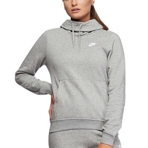 Nike Fleece Funnel Neck Pullover Hoodie